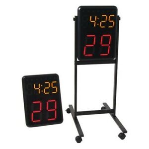 Metal stand, for shot clocks and other uses. New!