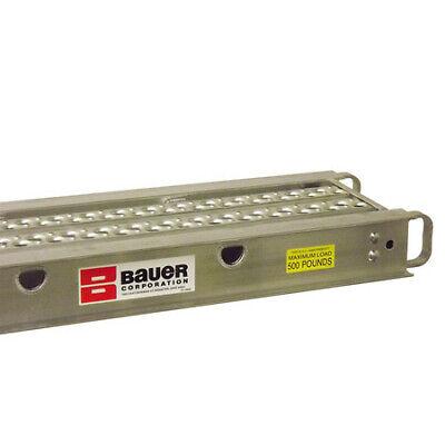 Bauer Ladder 21036 20 X 14 2-man Aluminum Plank 210 Series - 500 Lb. Rated
