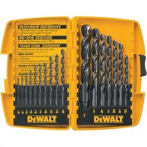 Drill bit sets, Dewalt, Makita, Mastercraft, Black & Decker ++