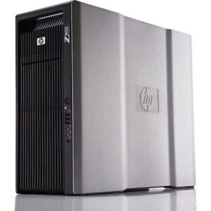HP Z800 Workstation - Dual CPU Xeon E5620 - Quadro 4000