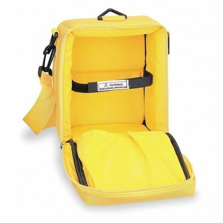 Simpson Electric 00832 Carrying Case,Nylon,Yellow