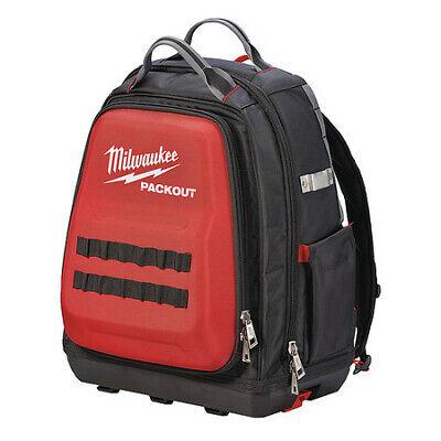 MILWAUKEE 48-22-8301 Tool Backpack, 1680D Ballistic Polyester, 48 Pockets,