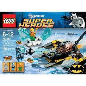 LEGO Arctic Batman Vs. Mr. Freeze - RETIRED and FACTORY SEALED