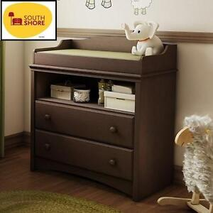 NEW* SS MORNING BABY CHANGING TABLE - 118657171 - ESPRESSO