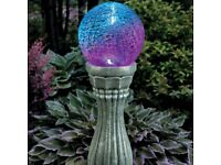 MultiColor Changing Solar Gazing Ball with Remote Control- BRAND NEW