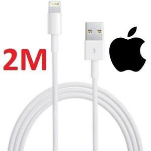 NEW APPLE LIGHTNING TO USB CABLE 2M MD819AM/A 215134564 IPHONE IPAD IPOD