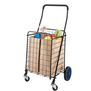 New still in plastic, Rolling shopping cart (pick up in Timmins)
