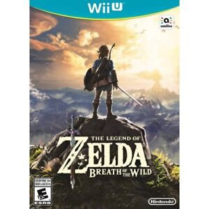 Zelda Breath of the Wild for WiiU