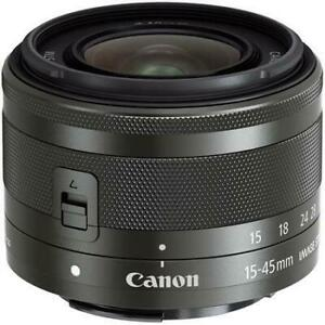 Canon EOS M Camera Body with EF-m 15-45mm lens
