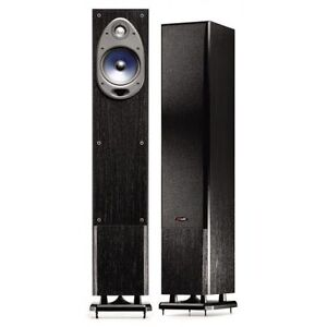 POLK Audio RT100i tower speakers, with built-in subwoofers
