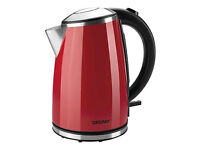 Zelmer CK1020/CK1274 - Electric Red Kettle Kitchen Appliance, brand new. M27 8WG