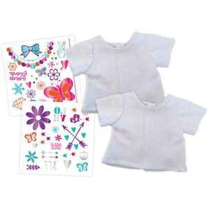 """NEW: My Life As Graphic Tee Kit (For 18"""" Dolls) - $10 only"""