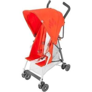 New Maclaren Mark II with Recline - Spicy Orange Stroller (For Pick Up Only) PU0