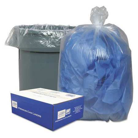 CLASSIC CLEAR WEBBC40 31-33 gal. Clear Trash Bag , 250PK