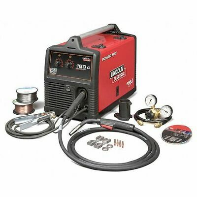 Lincoln Electric K2473-2 Mig Welder Power Mig 180c 1 208240v Ac 30 To 180a