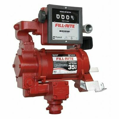 Fill-rite Fr311vn Fuel Transfer Pump 115230vac 35 Gpm 34 Hp Cast Iron