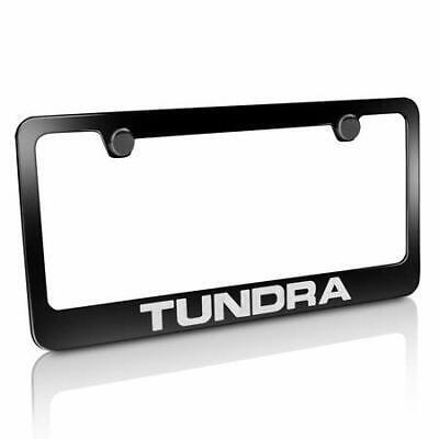 License Plate Frame Holder (Stainless Steel License Plate Frame Cover Holder Metal for Toyota Tundra)