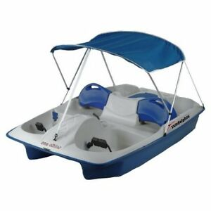 Sun Dolphin 5-Person Sun Slider Pedal Boat with Canopy-LIKE NEW