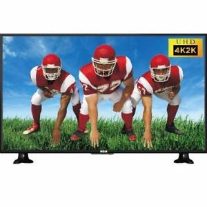 RCA 55 INCH 4K ULTRA HD LED TV. EXTRA SPECIAL DEAL $349.00 NO TAX