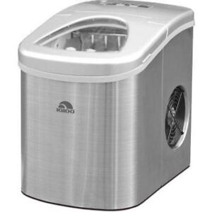 Portable Countertop Ice Maker RCA Igloo Fridgaire> RED, COPPER, SILVER