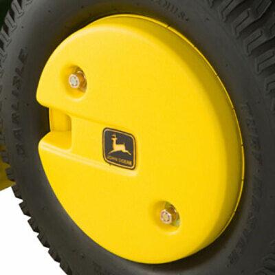 John Deere 50-lb Plastic-shell Rear Wheel Weight Bm17976 Single Weight