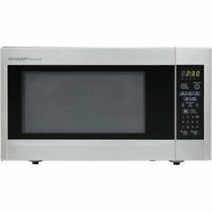 Sharp R551ZS Carousel Countertop Microwave Oven 1.8 cu. ft.