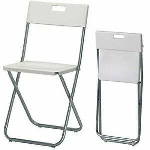 $1 a day chair rental and $5 a day folding table rental