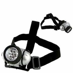 Brand New 7 LED head lamp