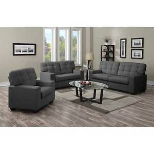 NEW!!! 3 PIECE UPHOLSTERED SOFA SET