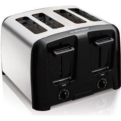Hamilton Careen Cool Wall 4-Slice Toaster, Chrome W