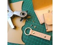 Leather Coin Purse and Key Ring Workshop