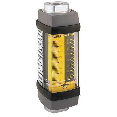 HEDLAND H601A-005 Flowmeter,GPM/LPM  0.5 - 5.0 / 2-19