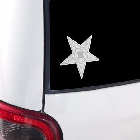 Order of the Eastern Star Masonic Bumper Sticker - [3