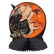 Vintage Halloween Witch Decoration