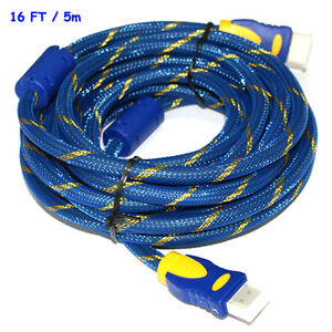 Gold Plated Connection HDMI Cable V1.4 HD 1080P for LCD HDTV