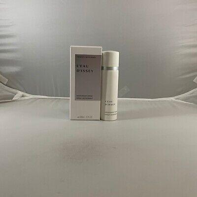L'eau D'issey by Issey Miyake 3.3 / 3.4 oz / 100 ml Women's Deodorant Spray NIB