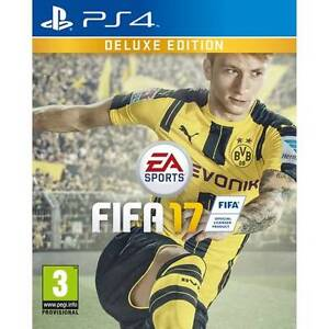 FIFA 17 Deluxe edition PS4 new sealed