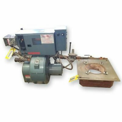 Used Webster Cyclonetic Jb Series Forced Draft Natural Gas Burner System