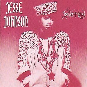 JESSE JOHNSON Shockadelica CD from 1986 A&M Records ex PRINCE guitarist