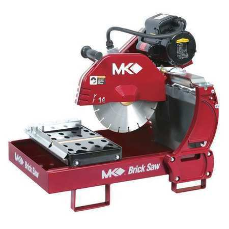 "MK DIAMOND PRODUCTS 161195 Brick Saw,14"",1-1/2 HP"
