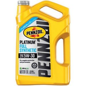 Pennzoil Platinum 5W30 Full Synthetic Engine Oil