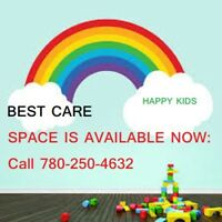 CHILD CARE@ 16 AVE & 19 STREET 780 250 4632