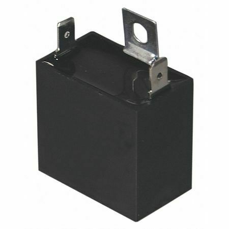 Dayton 22F173 Motor Run Capacitor,3 Mfd,1-1/2 In. H