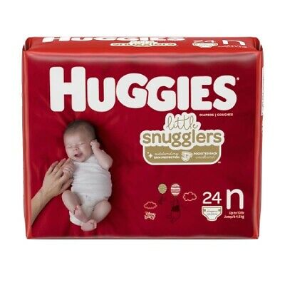 288/CS Unisex Baby Diaper Huggies Little Snugglers Newborn Heavy Absorbency