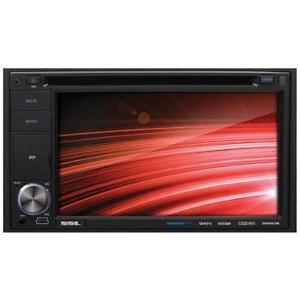 """6.5"""" DVD Double DIN In Dash Car Deck with AUX USB MP3"""