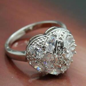 Promise ring18k white gold filled Beautiful!
