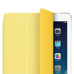 Smart cover jaune pour Ipad Air