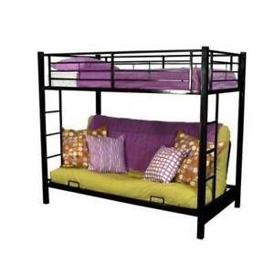 Bunk Bed With Convertible Couch Double Bed Bottom Beds Gumtree