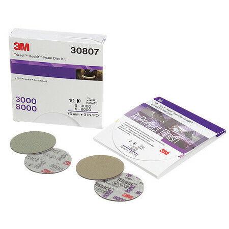 "3M 30807 Polishing Pad Kit,Foam,3"" Size"