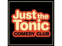 Just The Tonic's Saturday Night Comedy in The Spiegaltent on October 07, 2017